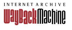 The way back machine